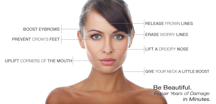 botox is safe and effective way to temporarily reduce wrinkles
