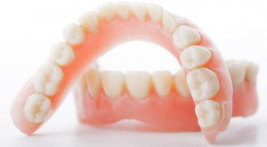There are two types full and partial dentures.