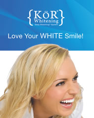 KoR Tooth Whitening by San Ramon Dentist Dr. Mohammad Khandaqji gives you a fast whiter smile